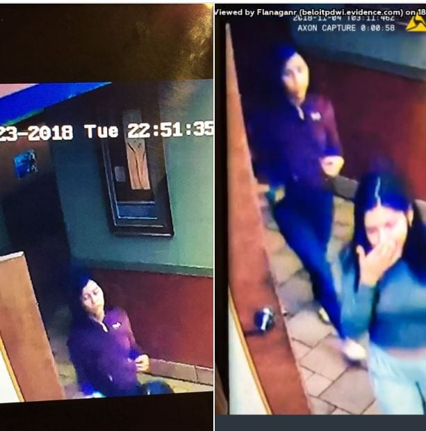 Beloit Police look for two teenage women who set business on fire