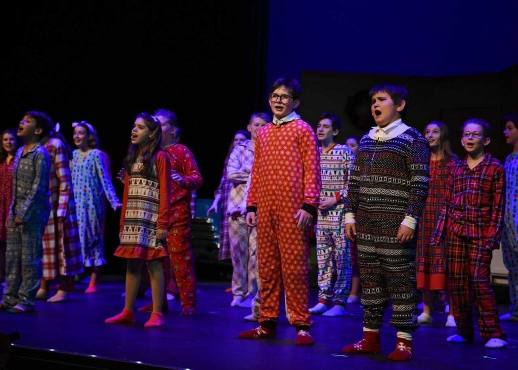 A Christmas Story The Musical.Vact Rings In The Holiday Season With A Christmas Story