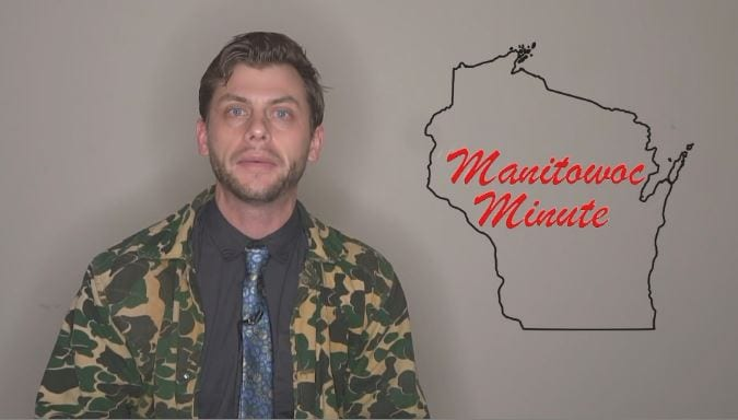 Manitowoc Minute's Charlie Berens appears on Wake Up Wisconsin - WKOW