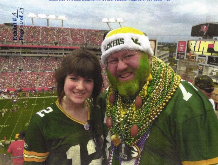 Packers fan loses bid to wear team colors at Soldier Field