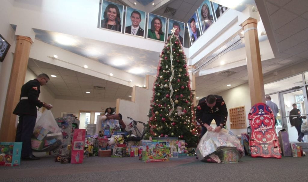 WATCH: Time lapse of Toys for Tots pickup at WKOW