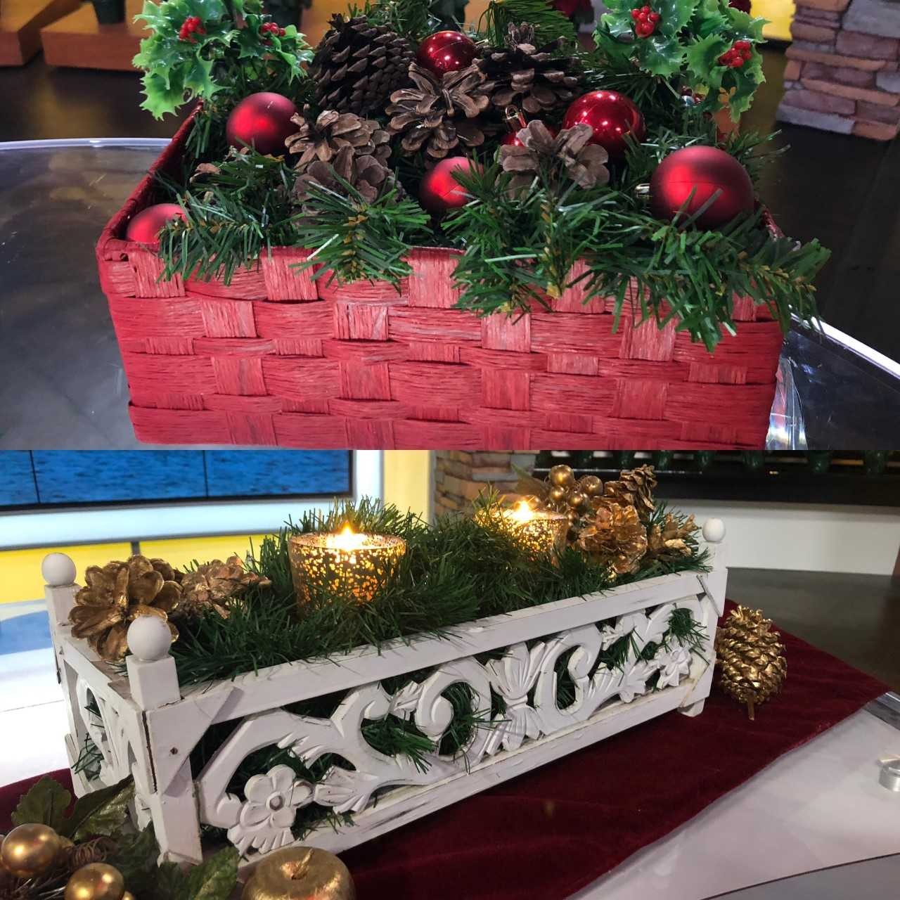 Goodwill challenges Wake Up Wisconsin anchors to holiday crafting contest