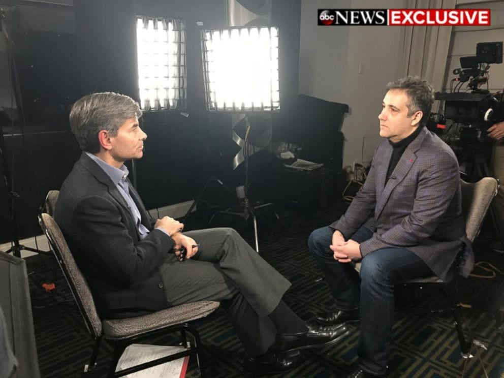 ABC NEWS EXCLUSIVE: Ex-Trump lawyer Michael Cohen says Trump knew it was wrong to make hush-money payments during campaign