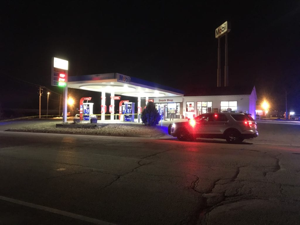 Windsor Travel Center robbery