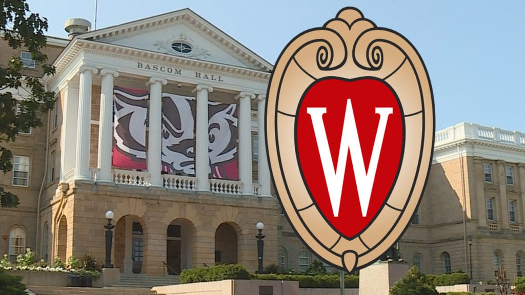Bascom Hall on the University of Wisconsin campus in Madison. File photo.