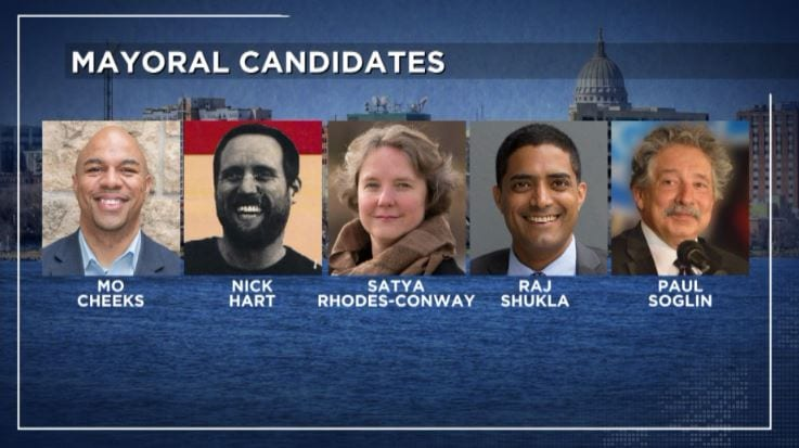 Madison mayoral candidates face diverse set of issues