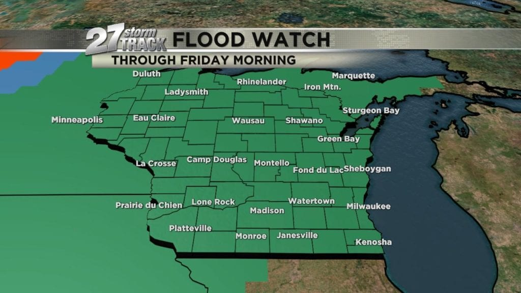 Flooding will continue into the weekend - WKOW