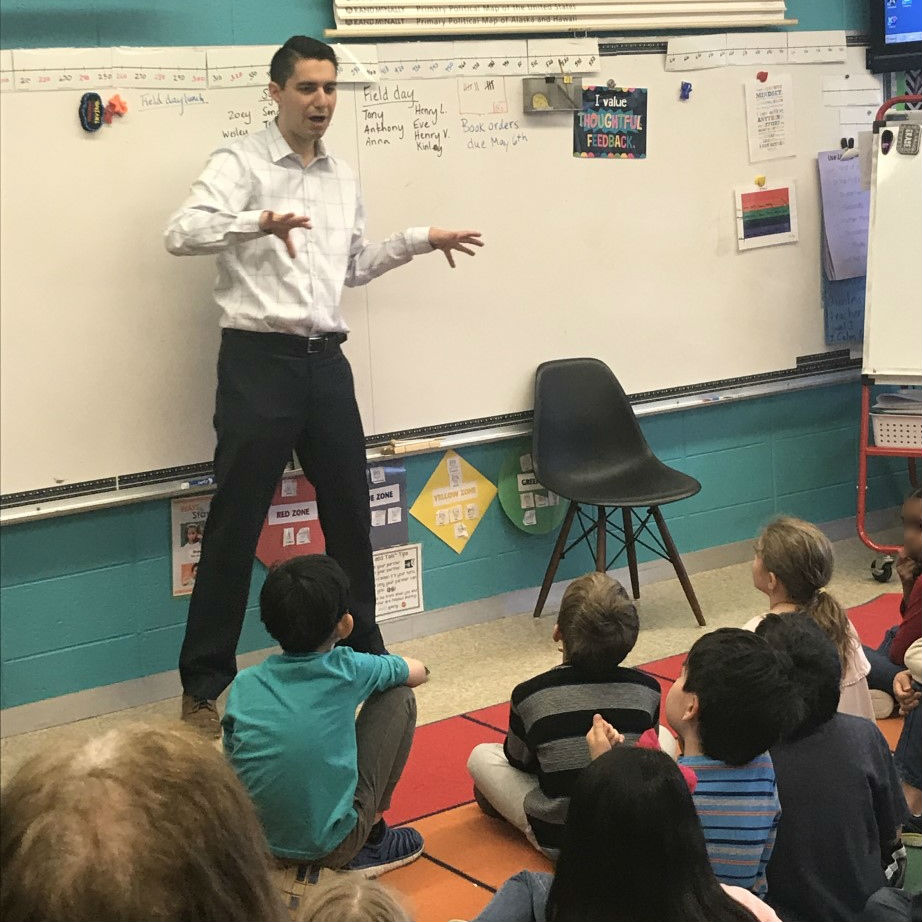 Storm Track Meteorologist Teaches Weather Safety At Van