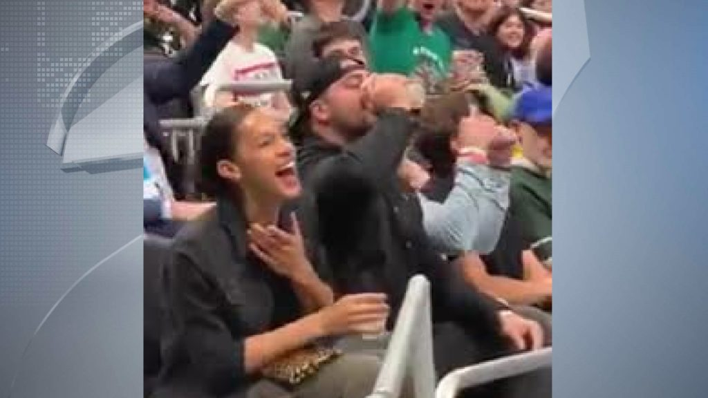 This time, Packers' lineman chugs two beers to fire up Bucks crowd