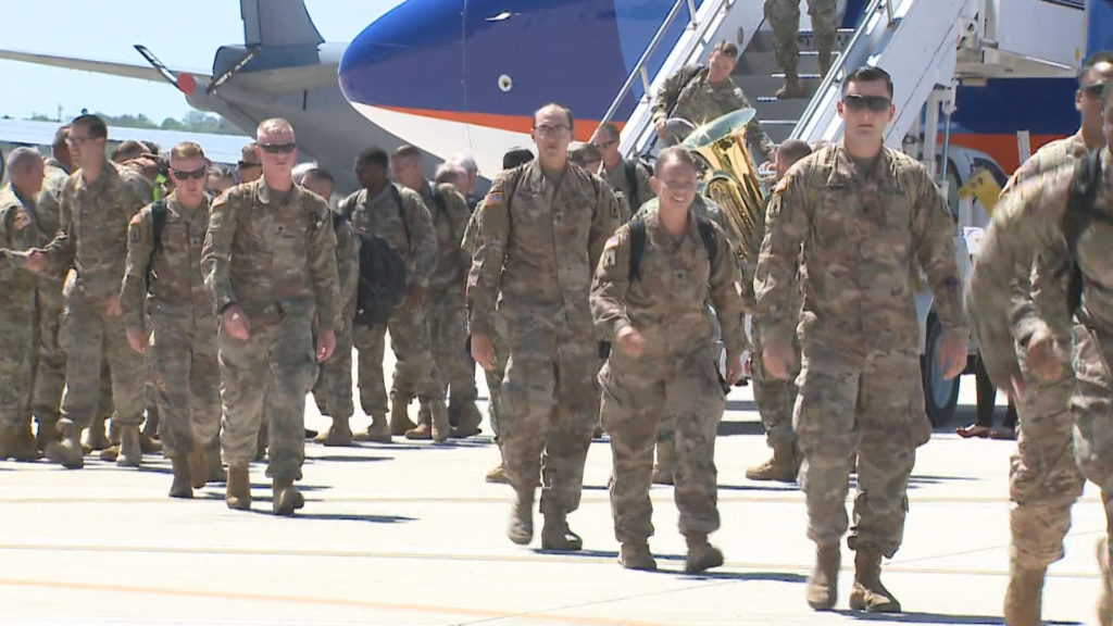 Milwaukee National Guard members home from Middle East