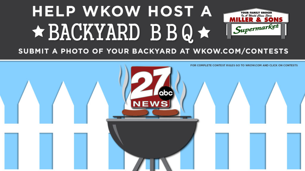 Rules: Win a BBQ in your backyard with Meteorologist John Zeigler