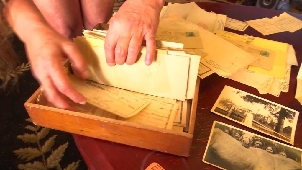 Tennessee woman looks for owner of WWII memorabilia found in
