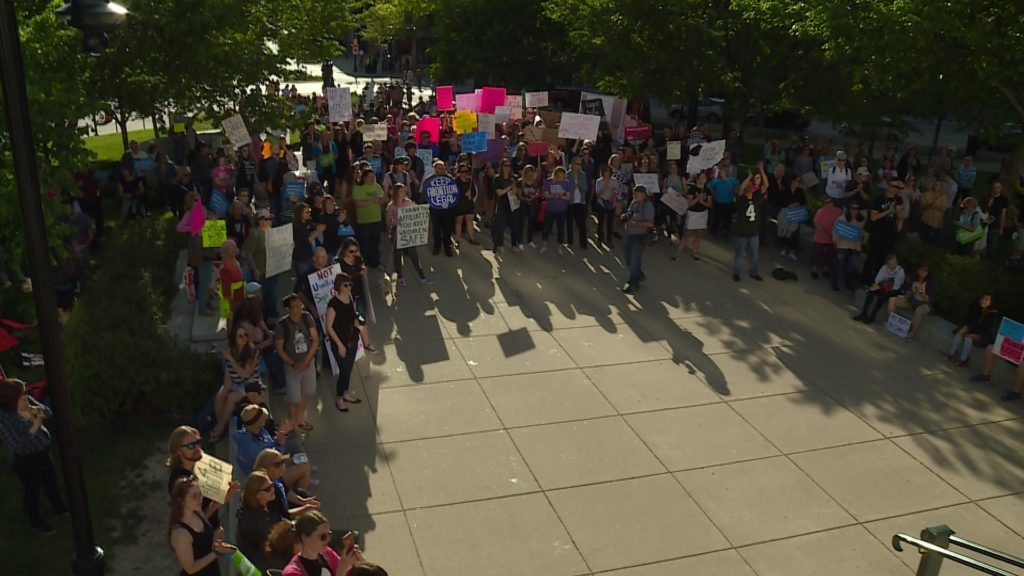 "Hundreds attend ""Stop the Bans"" rally for abortion access at Capitol"