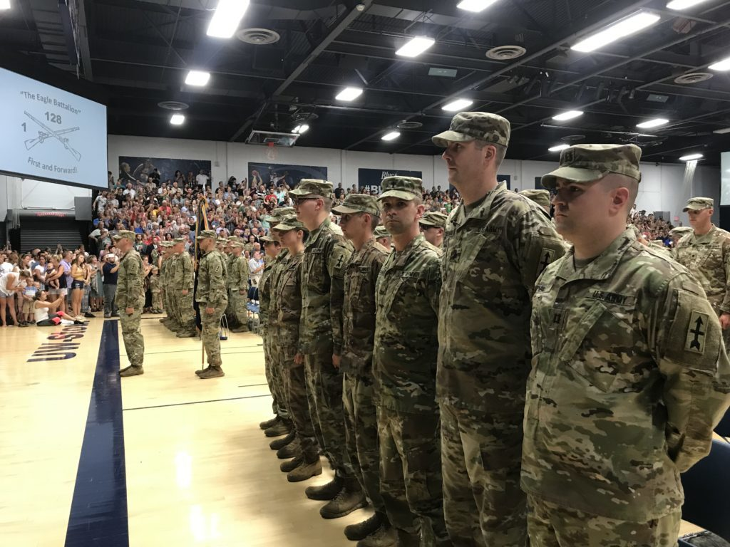 Wisconsin Army National Guard soldiers sent off to