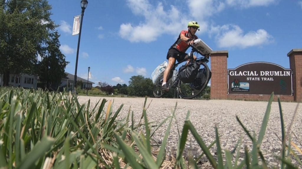 Wisconsin Man Bikes Across The Country For Melanoma