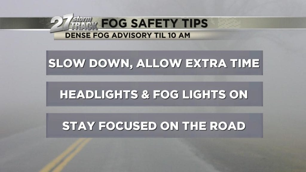 Dense fog advisory in effect til 10 am