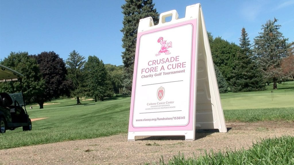 Girls golf teams raise money in Crusade Fore A Cure