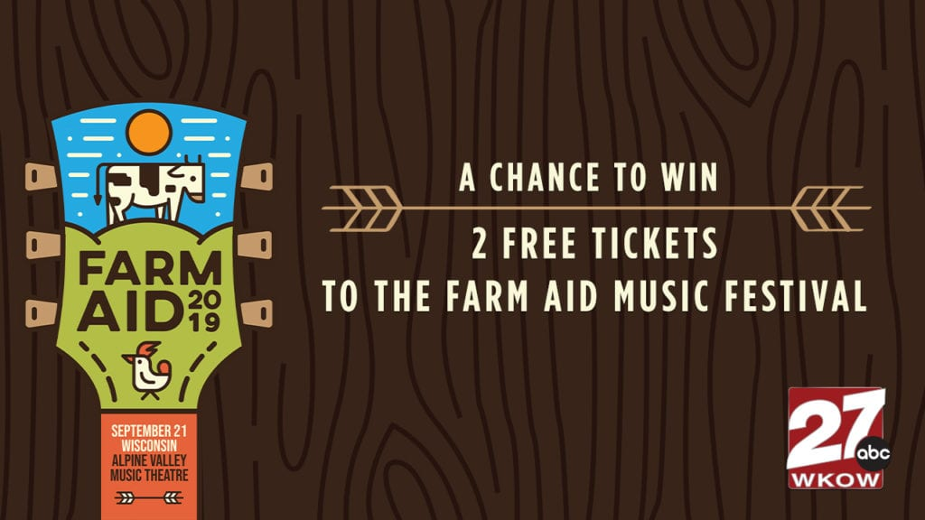 Win tickets to the sold out Farm Aid festival at Alpine Valley