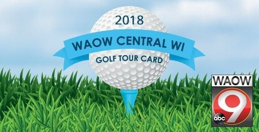 WAOW Central Wisconsin Golf Card 2018