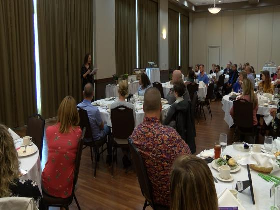 Meth addict tells luncheon: 'I want to be a voice of hope'