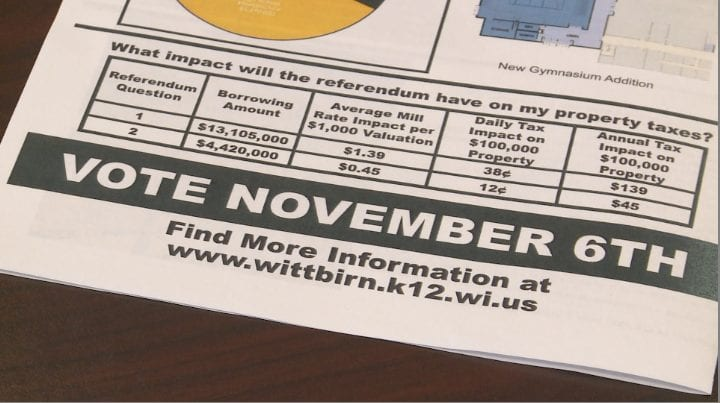 Wittenberg-Birnamwood school district asking for $17.5M referendum