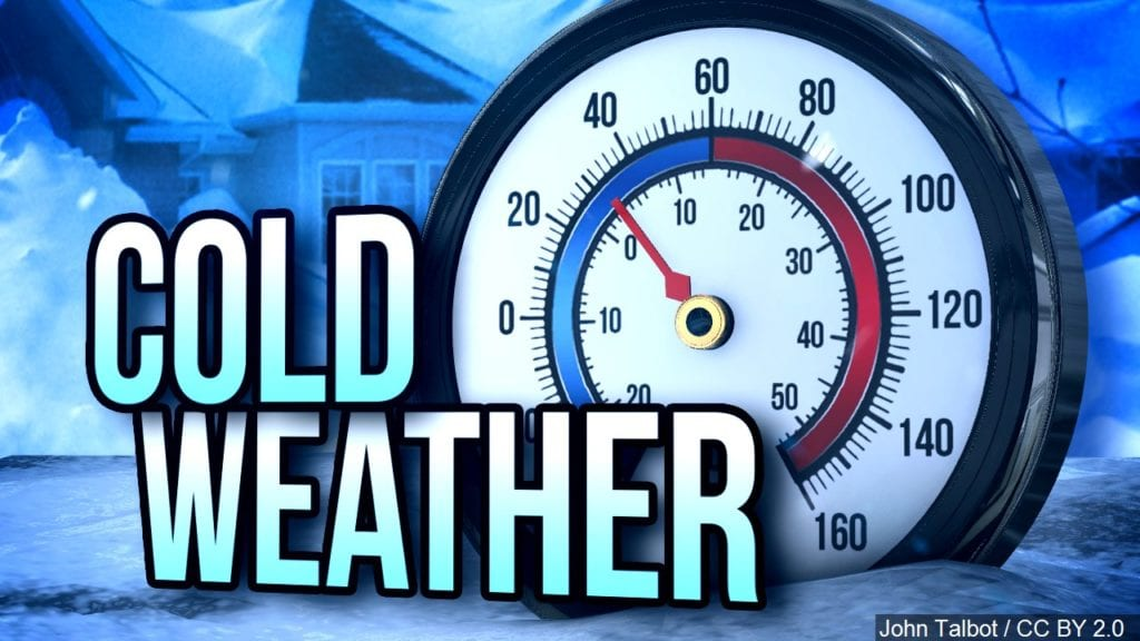 Cold weather through Thanksgiving
