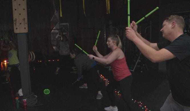 Dozens work out for Toys for Tots