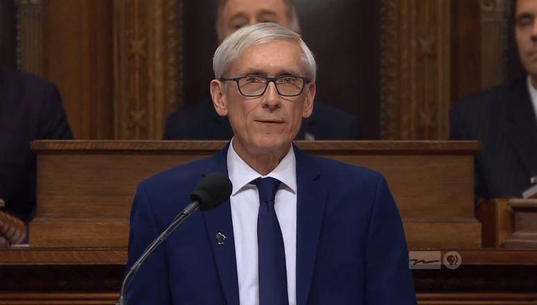 Gov. Evers' first State of the State