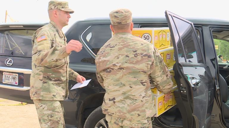 National Guard delivers 6,000 brats to senior living homes