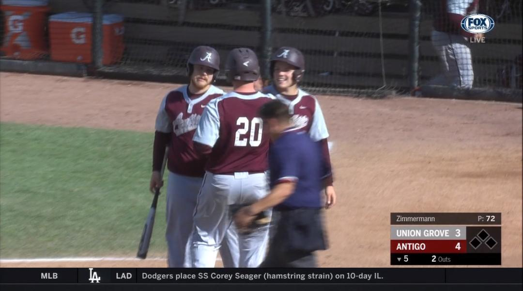 Antigo baseball earns first state title in school history with 8-3 win