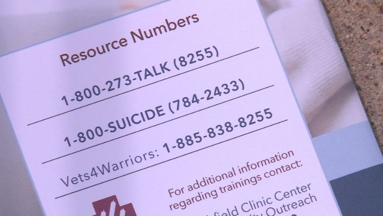 Marshfield Clinic hosts suicide prevention training