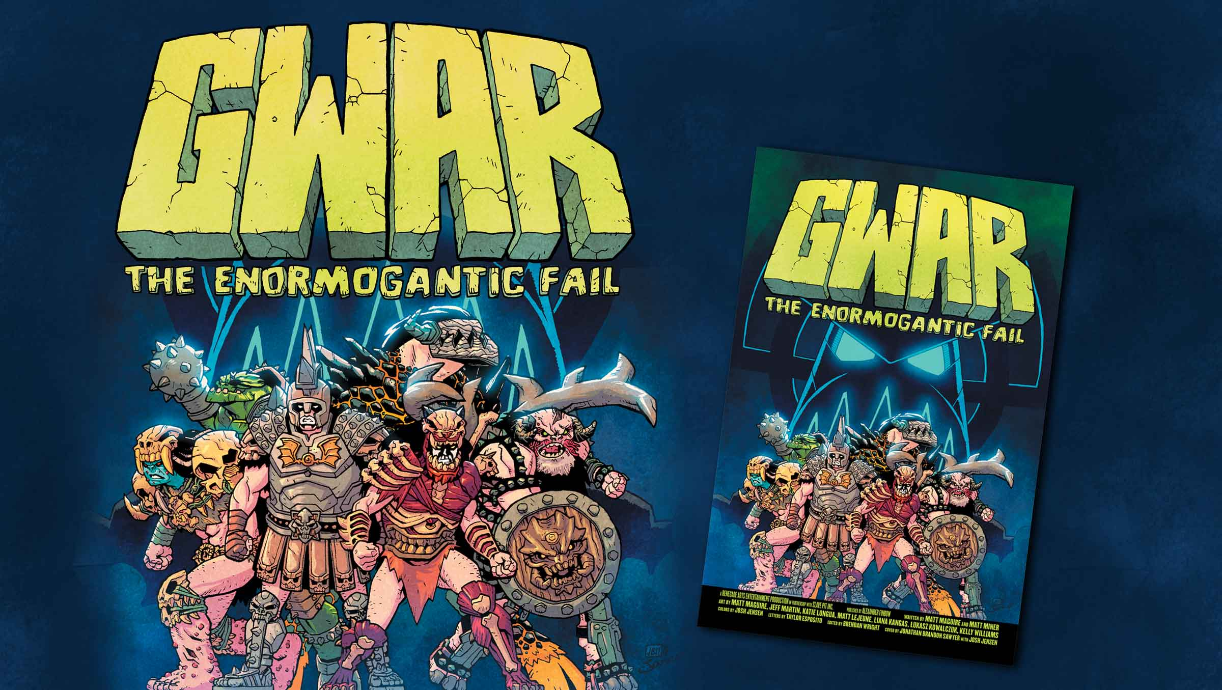NEW GWAR GRAPHIC NOVEL! PRE-ORDERS LIVE
