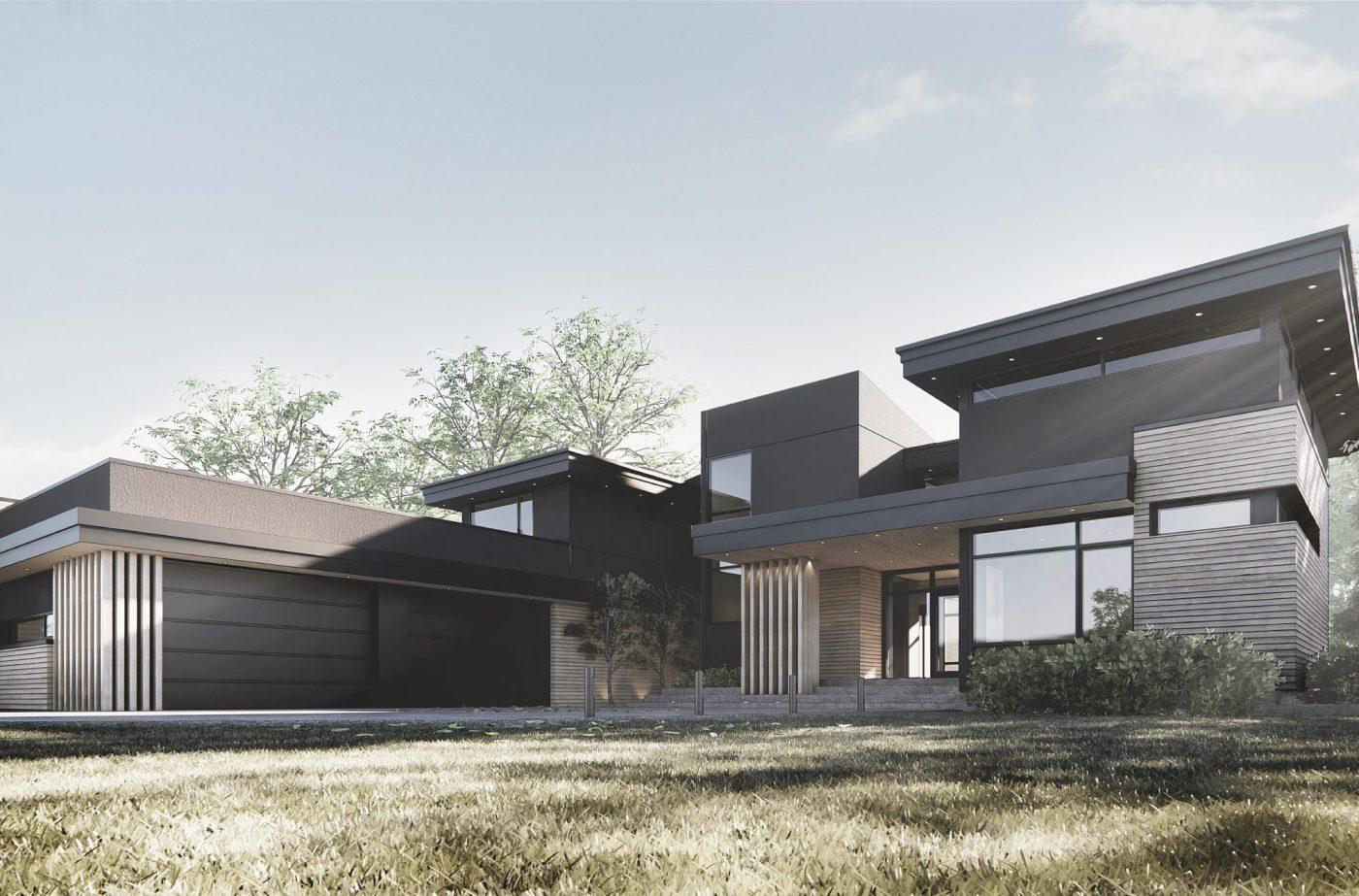 Rimrock Elevations Custom Home Build in Windermere Edmonton