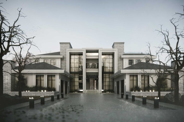 Custom Luxury Home in WIndermere by RImrock Elevations