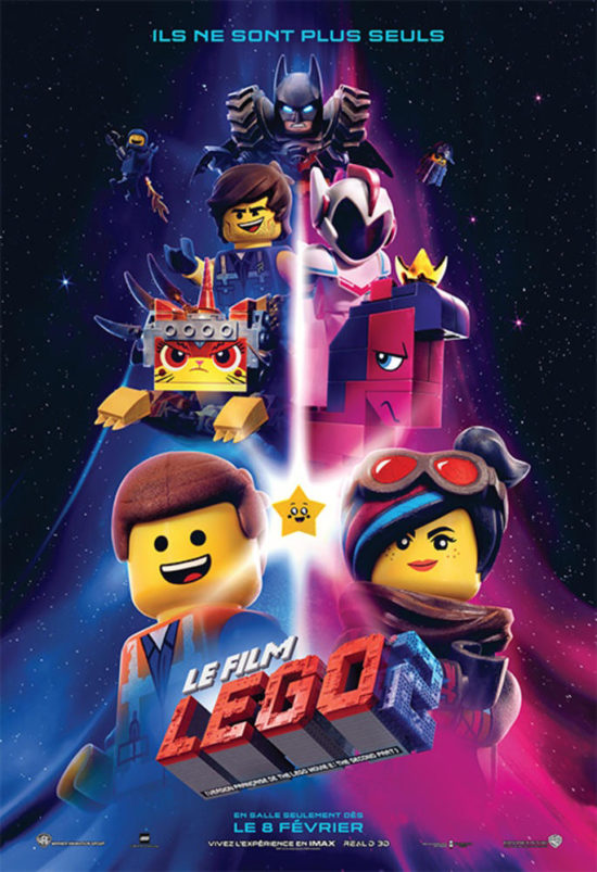 affiche du film lego 2