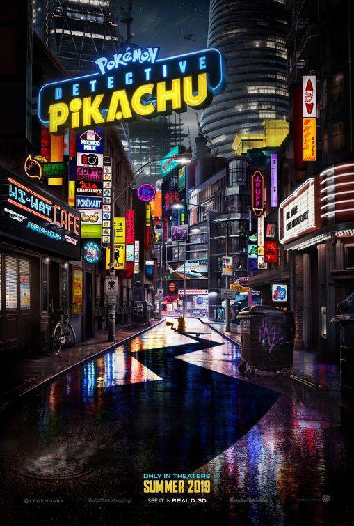 affiche du film détective pikachu