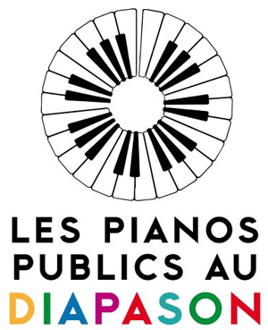 logo pianos publics au diapason