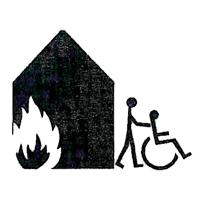 pictogramme secours adapté