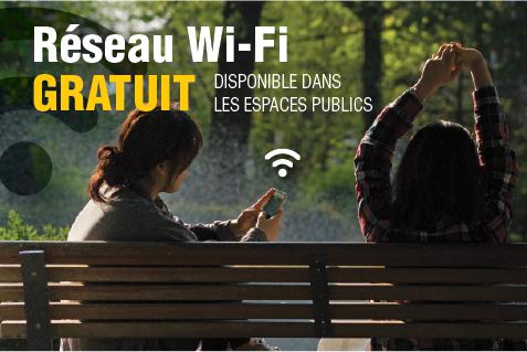wi-fi dans un parc