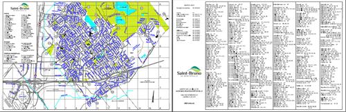 carte de la ville