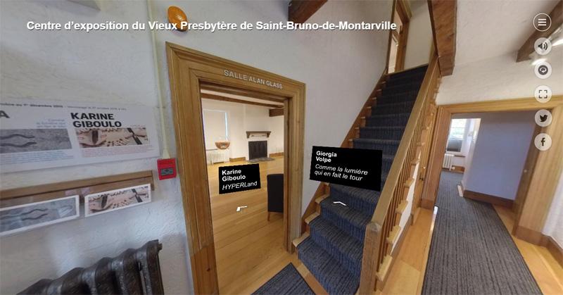 visite virtuelle du Vieux Presbytère