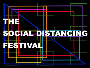 logo social distancing festival