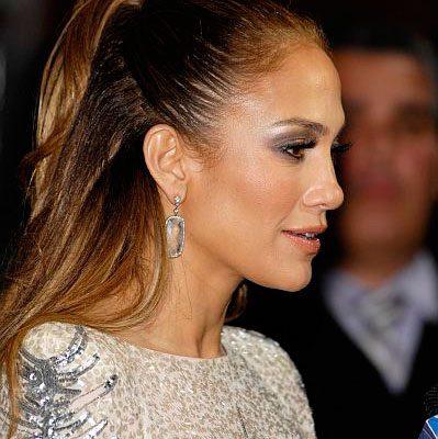 Jennifer Lopez Hair AMAs 2011