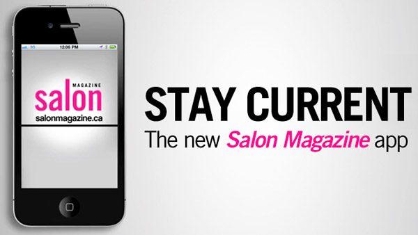 Salon Magazine iPhone App