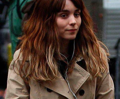 12 04 rooney mara dipdye hair extensions