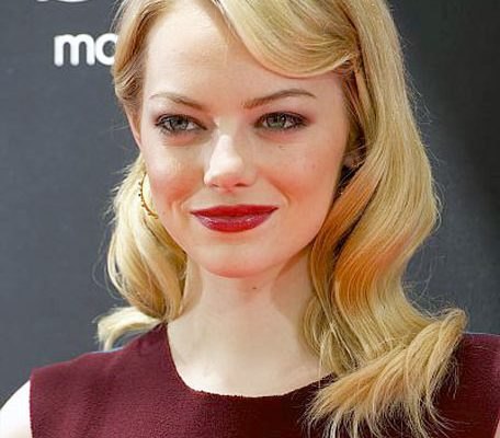 12 06 emma stone hair news 2012 blonde red