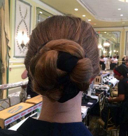 NYFW osis skp backstage hair 4