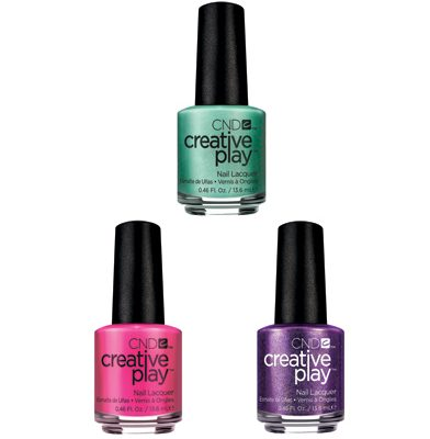 Creative play nail polish.