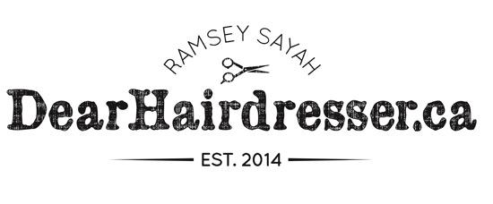 Ramsey Sayah dear hairdresser website