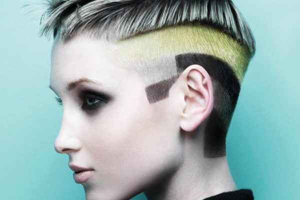 Graffiti hair trend